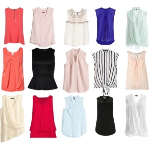 Summer blouses for office
