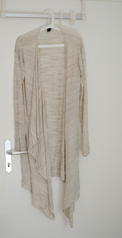 Cardigan Long Beige H&M