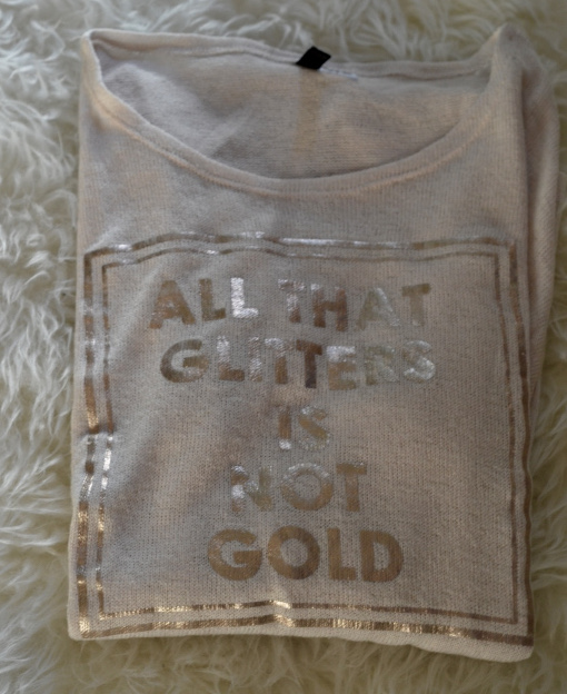 H&M all the glitters is not gold