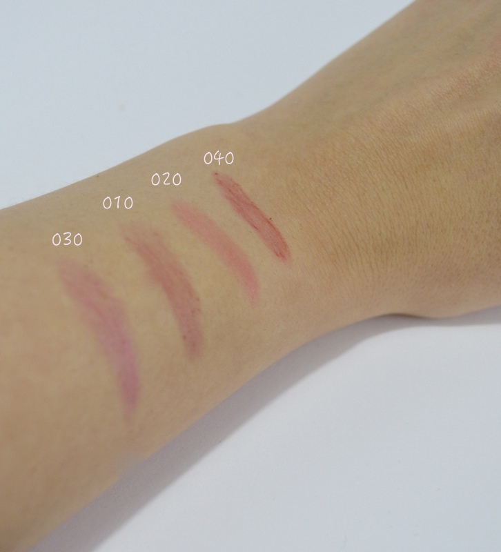 Touch of Vintage Lip Balm Swatches